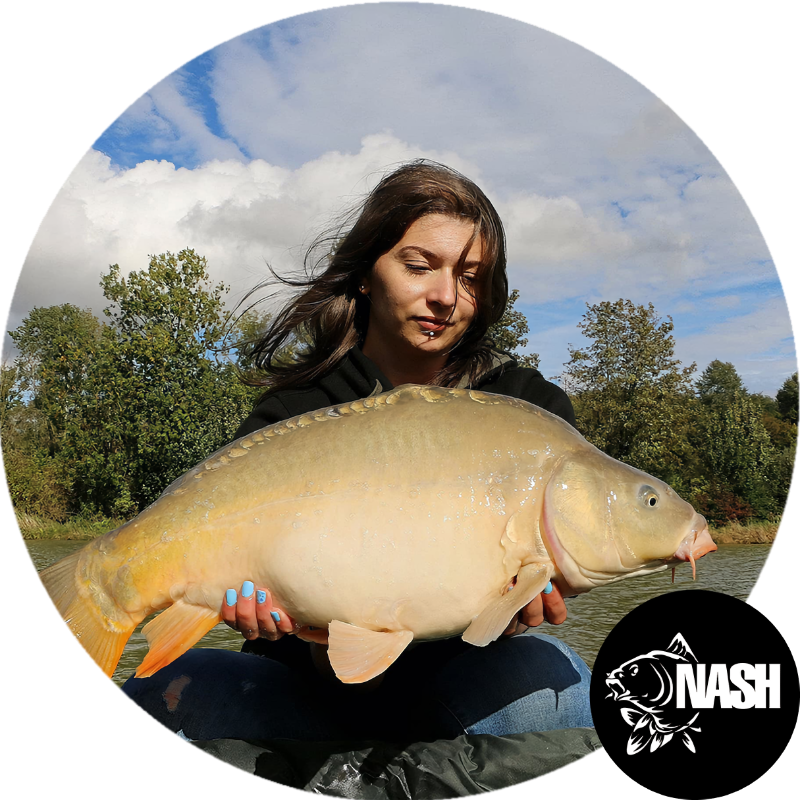 Morgane - MoOkii Fishing, ambassadrice Passion Carpe